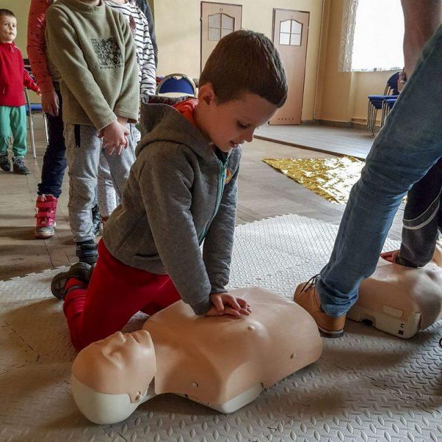 Kurs w zakresie pierwszej pomocy