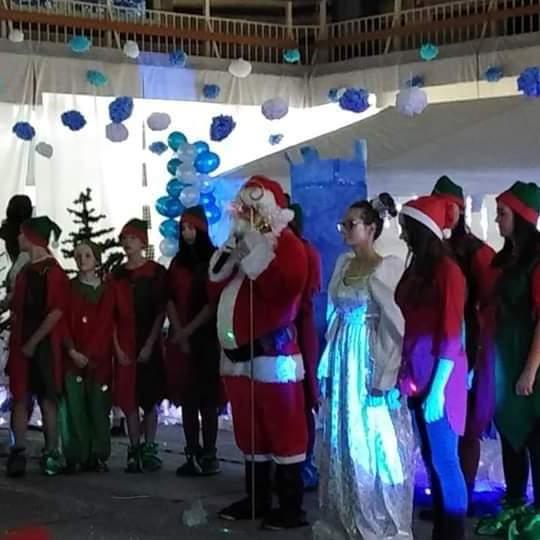 Spotkanie ze Świętym Mikołajem w Krainie Lodu
