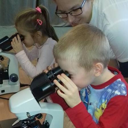 Popularyzacja nauk przyrodniczych dla dzieci 4-10 lat