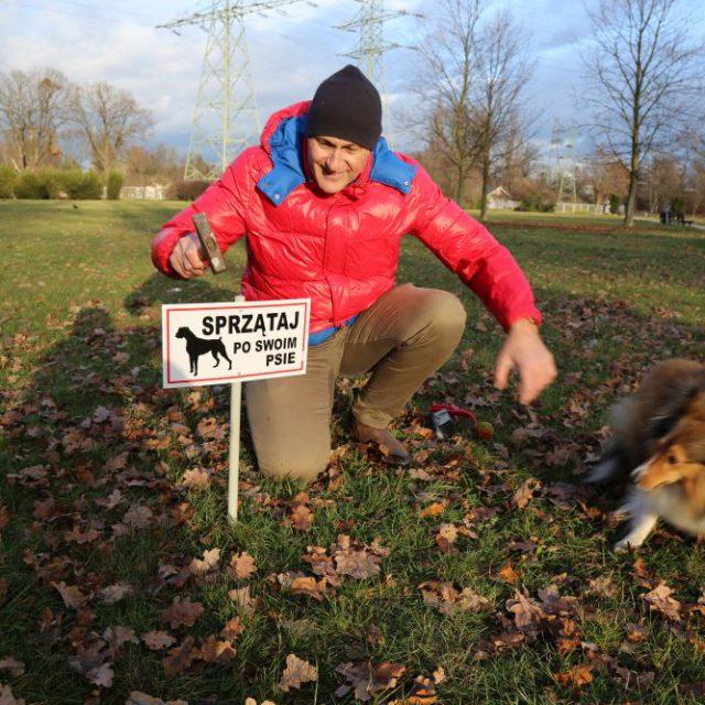 Po psie swoim sprzątaj i się nie rozglądaj!