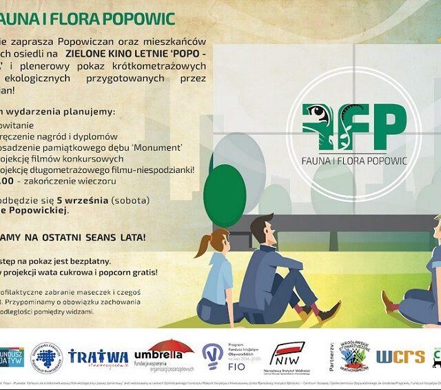 Zielone Kino Letnie 'Popo – Planeta'