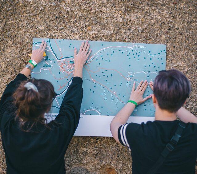 Lokalna Mapa Turystyczna Tarczyna i okolic