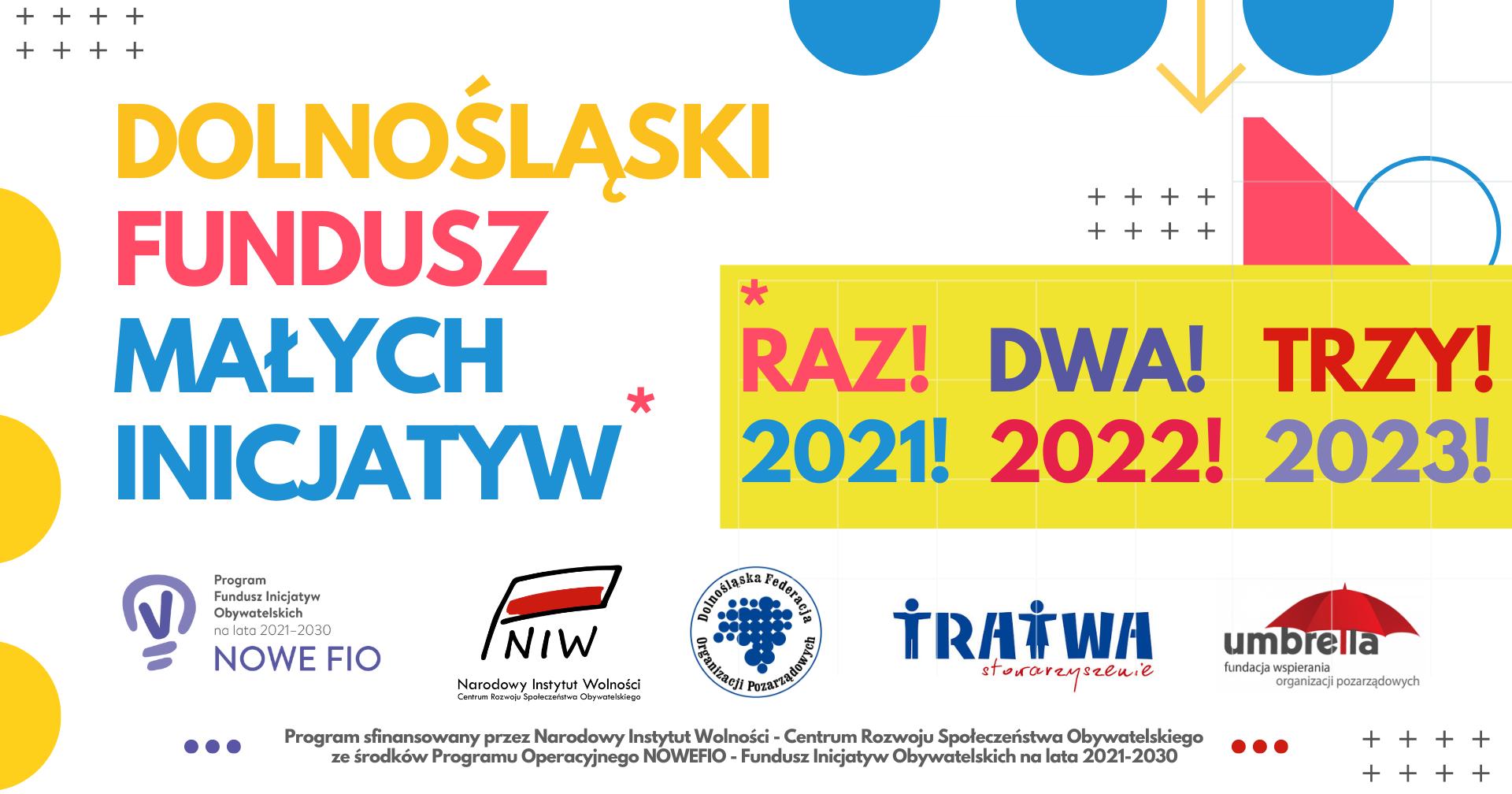 Mikrodotacje/wsparcia realizacji lokalnych przedsięwzięć do 5 tysięcy złotych dla młodych NGO, grup nieformalnych i samopomocowych z Dolnego Śląska